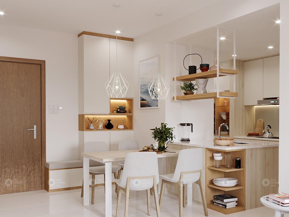 Thiết kế nội thất căn hộ Midori The View