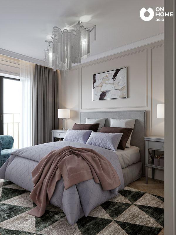 Thiết kế tân cổ điển nhà phố phòng ngủ