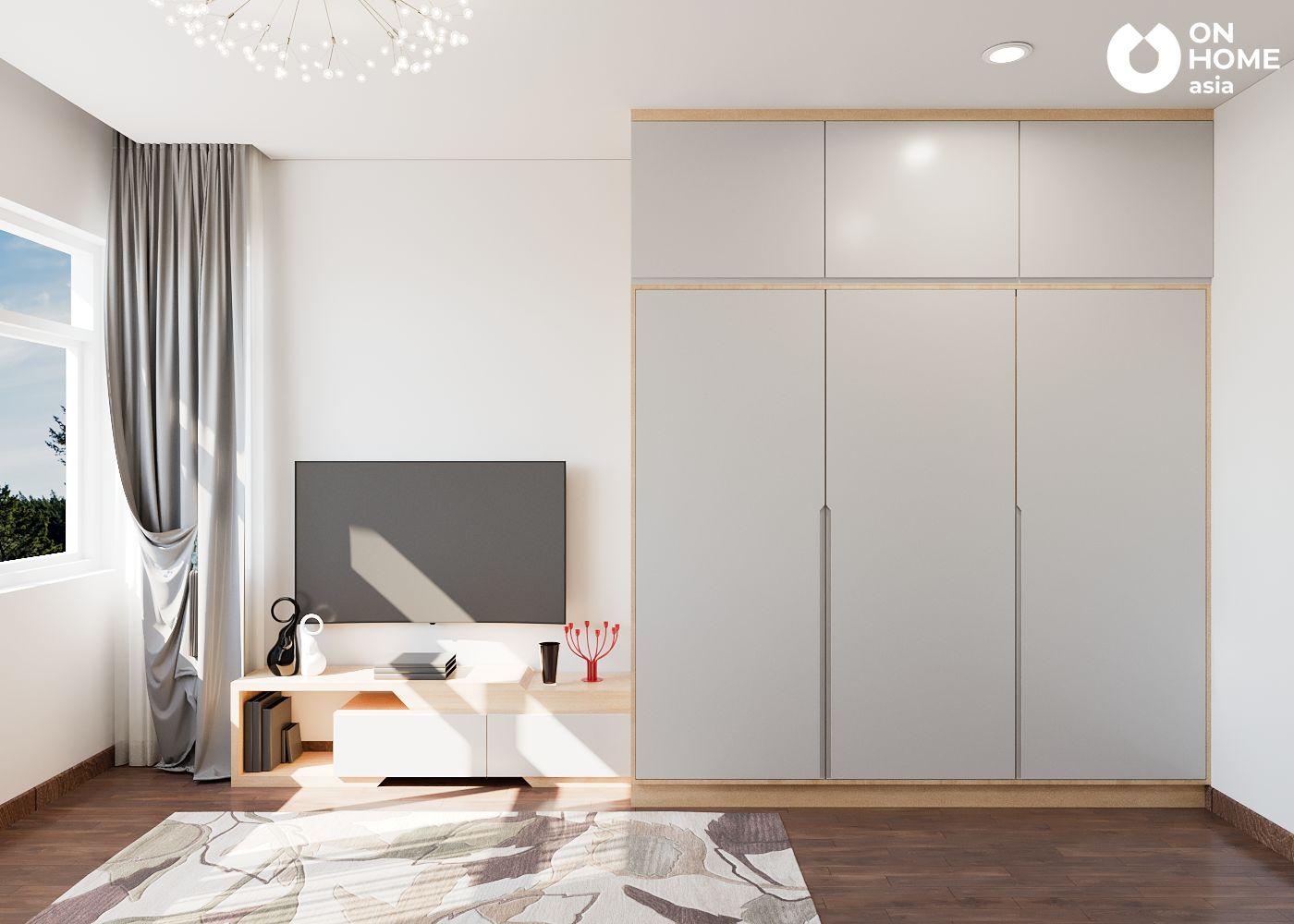 phòng ngủ căn hộ Habitat
