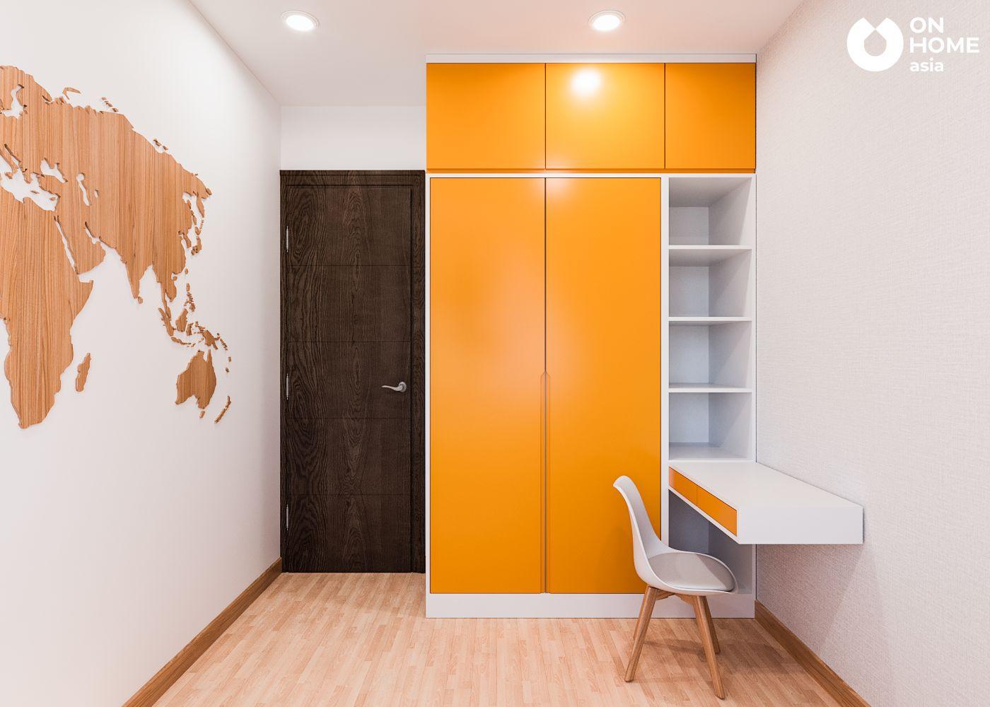 phòng bé trai căn hộ Habitat