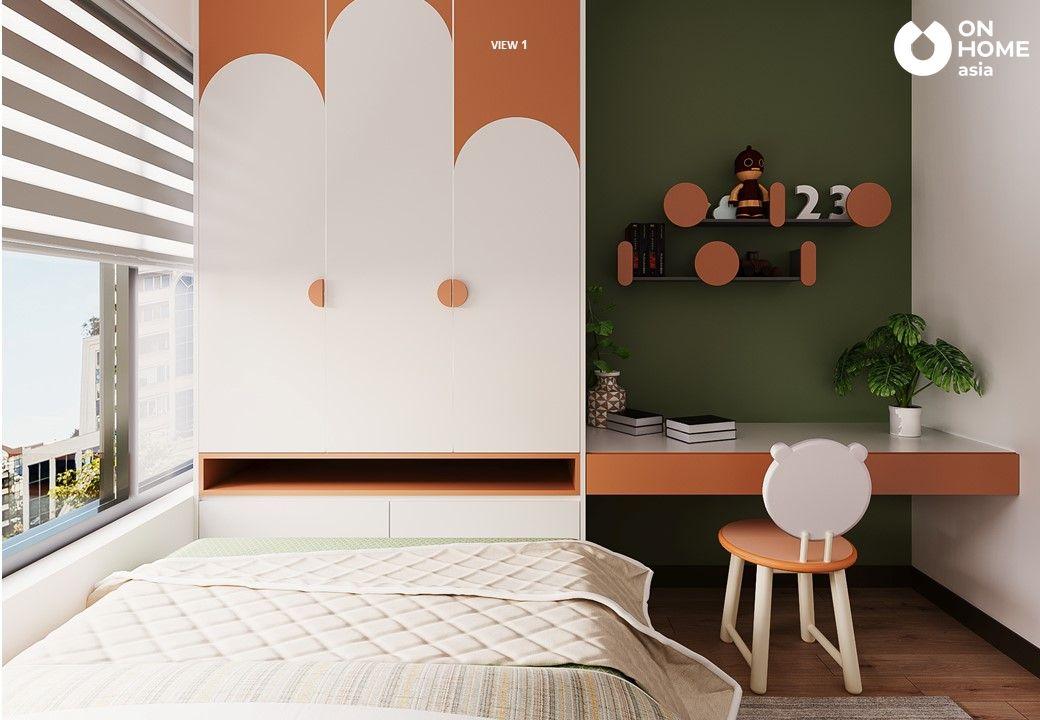 Thiết kế nội thất phòng ngủ nhỏ cho chung cư 3 phòng ngủ