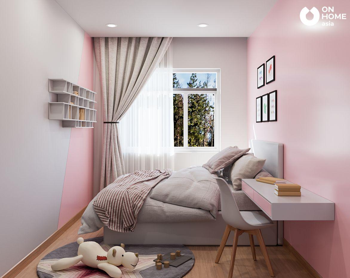 phòng ngủ nhỏ căn hộ Habitat