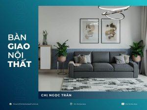 thumbnail thiết kế nội thất chung cư compass one chị Trân