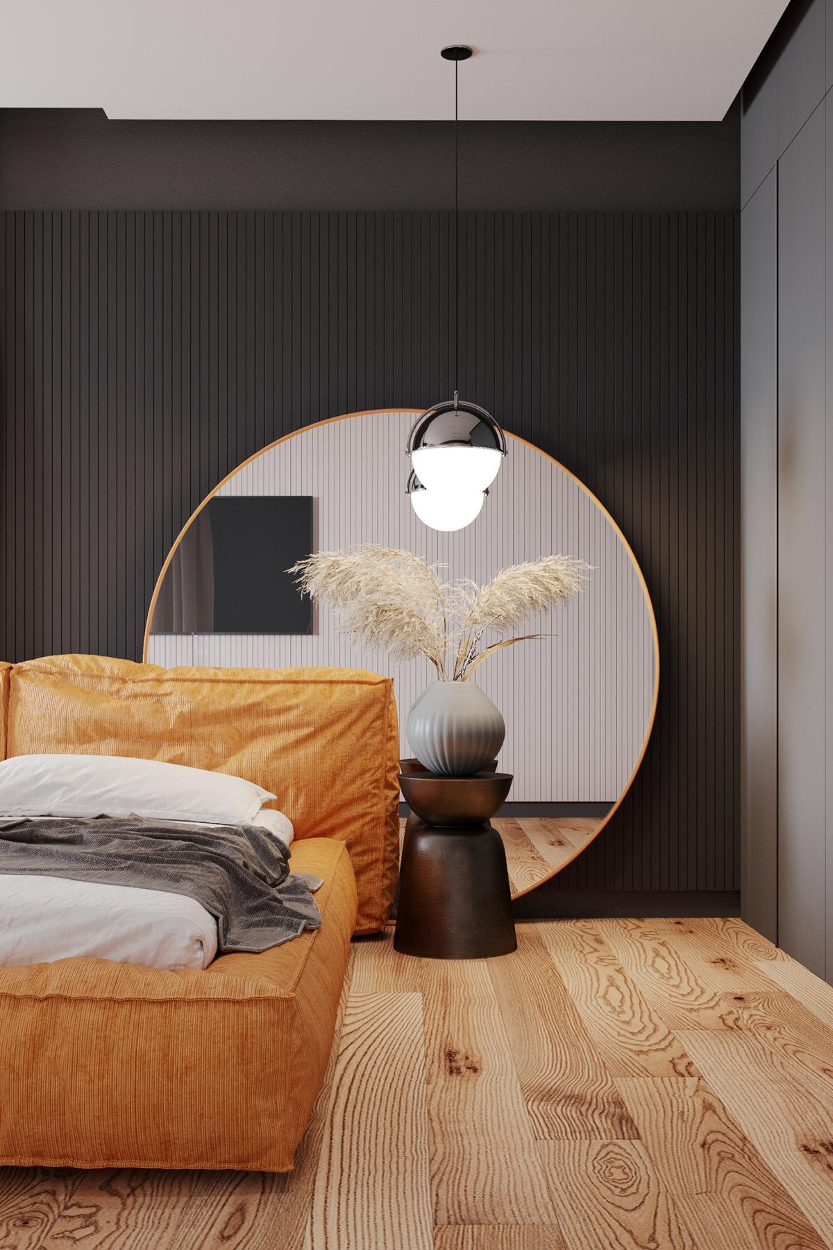 phòng ngủ căn hộ 1 phòng ngủ