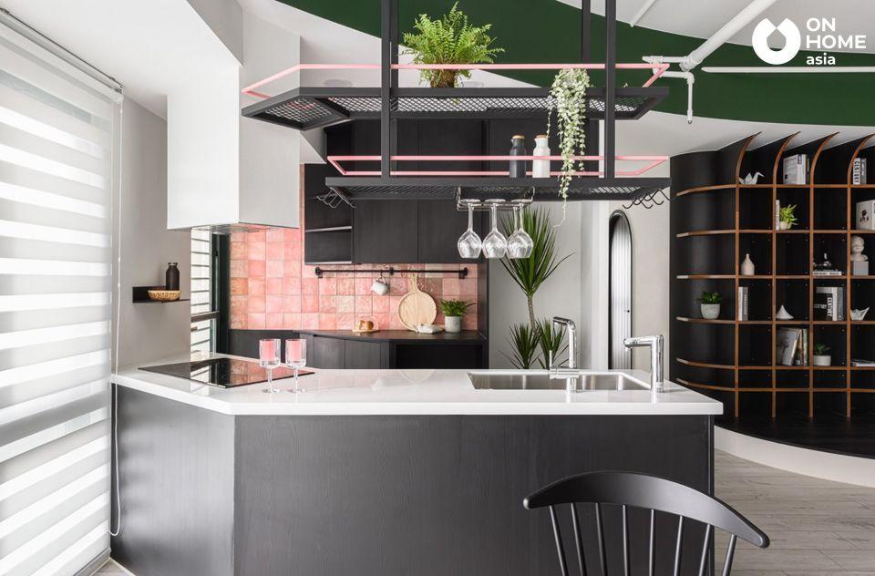 phòng bếp căn hộ chung cư