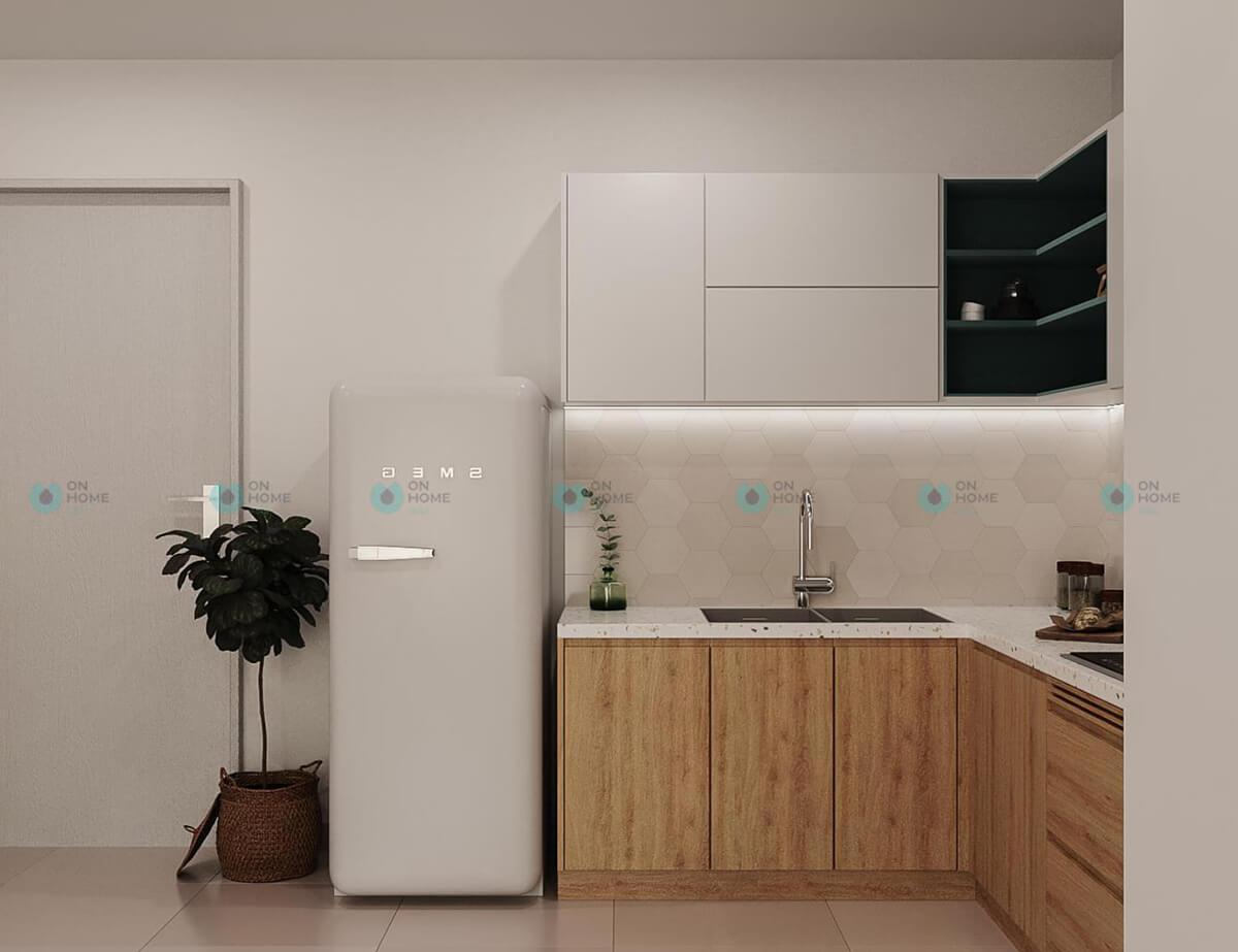 thiết kế nội thất bếp cpo bình dương mẫu 2bra