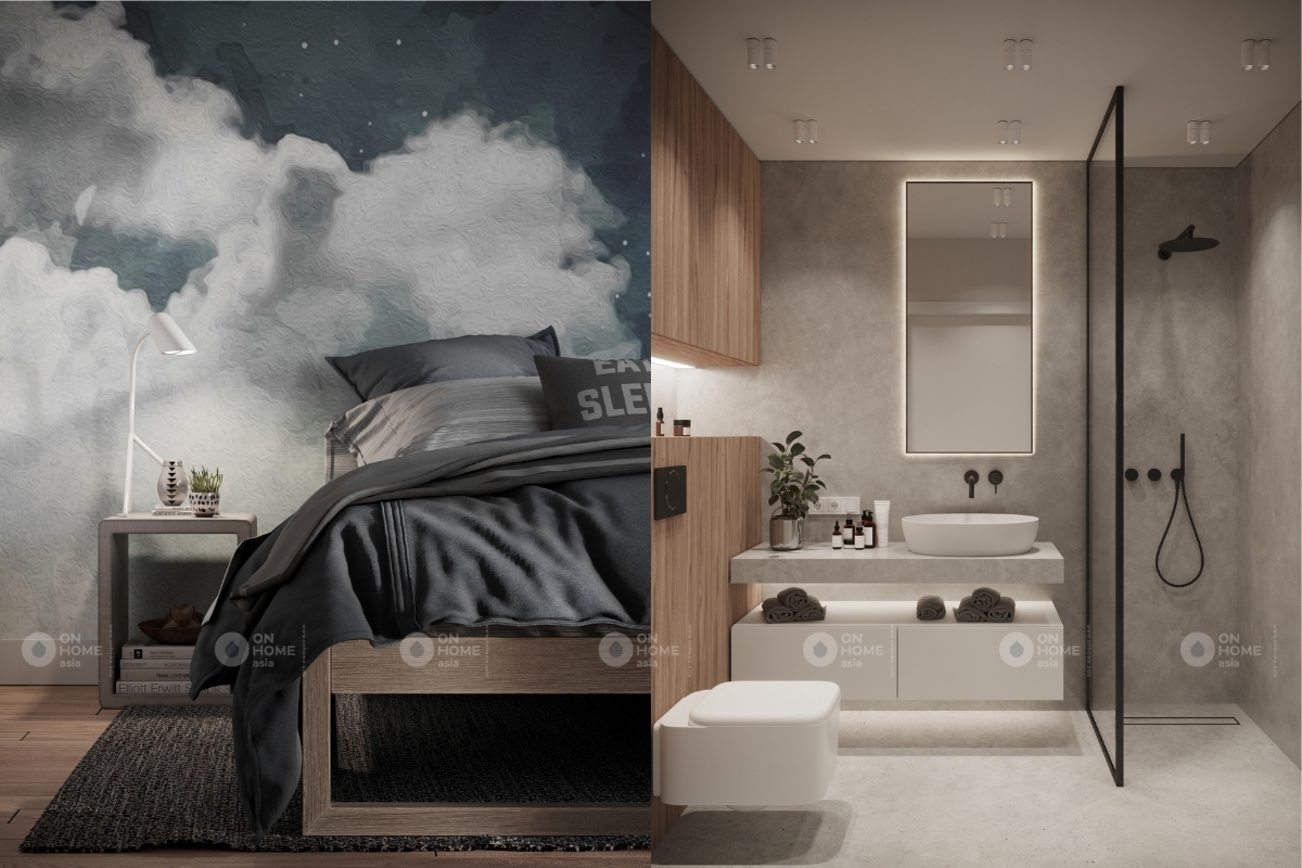 Nội thất phòng ngủ sang trọng và hiện đại với nội thất cao cấp