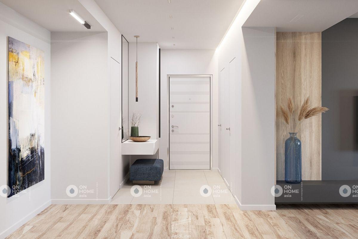 Bố trí đồ nội thất phù hợp giúp không gian thông thoáng