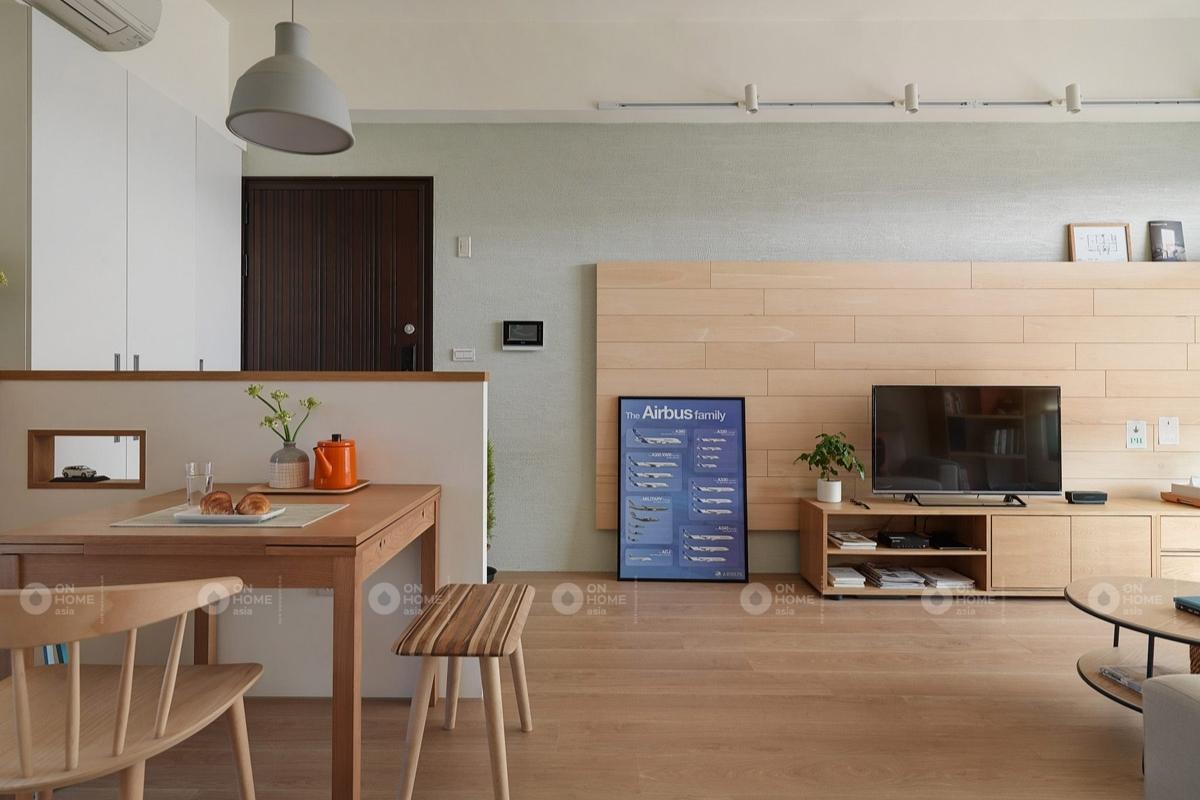 Không gian sinh hoạt chung trong căn hộ