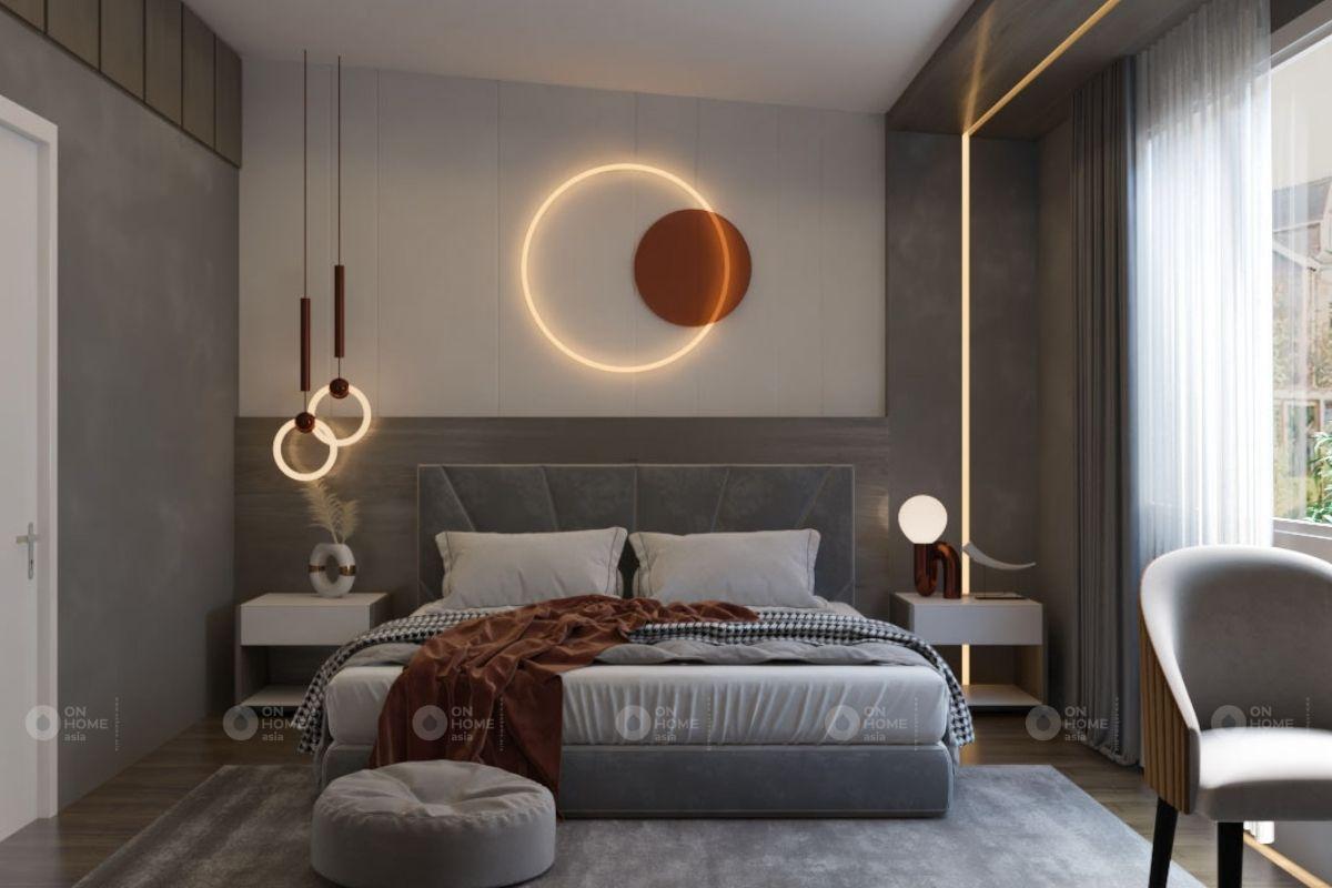 nội thất phòng ngủ căn hộ 45m2