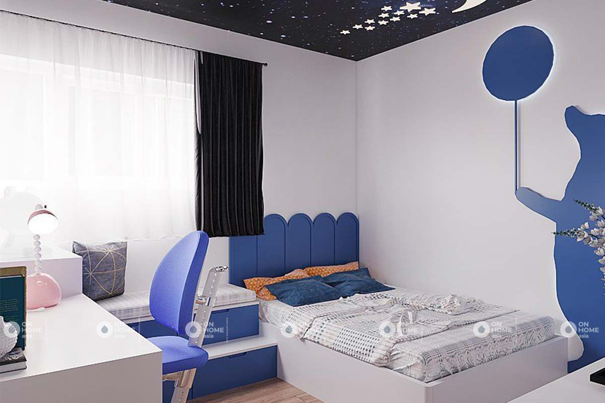 nội thất phòng ngủ cho trẻ căn hộ 2pn