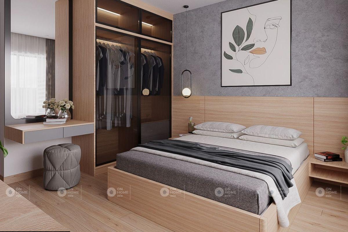 nội thất phòng ngủ chung cư 45m2