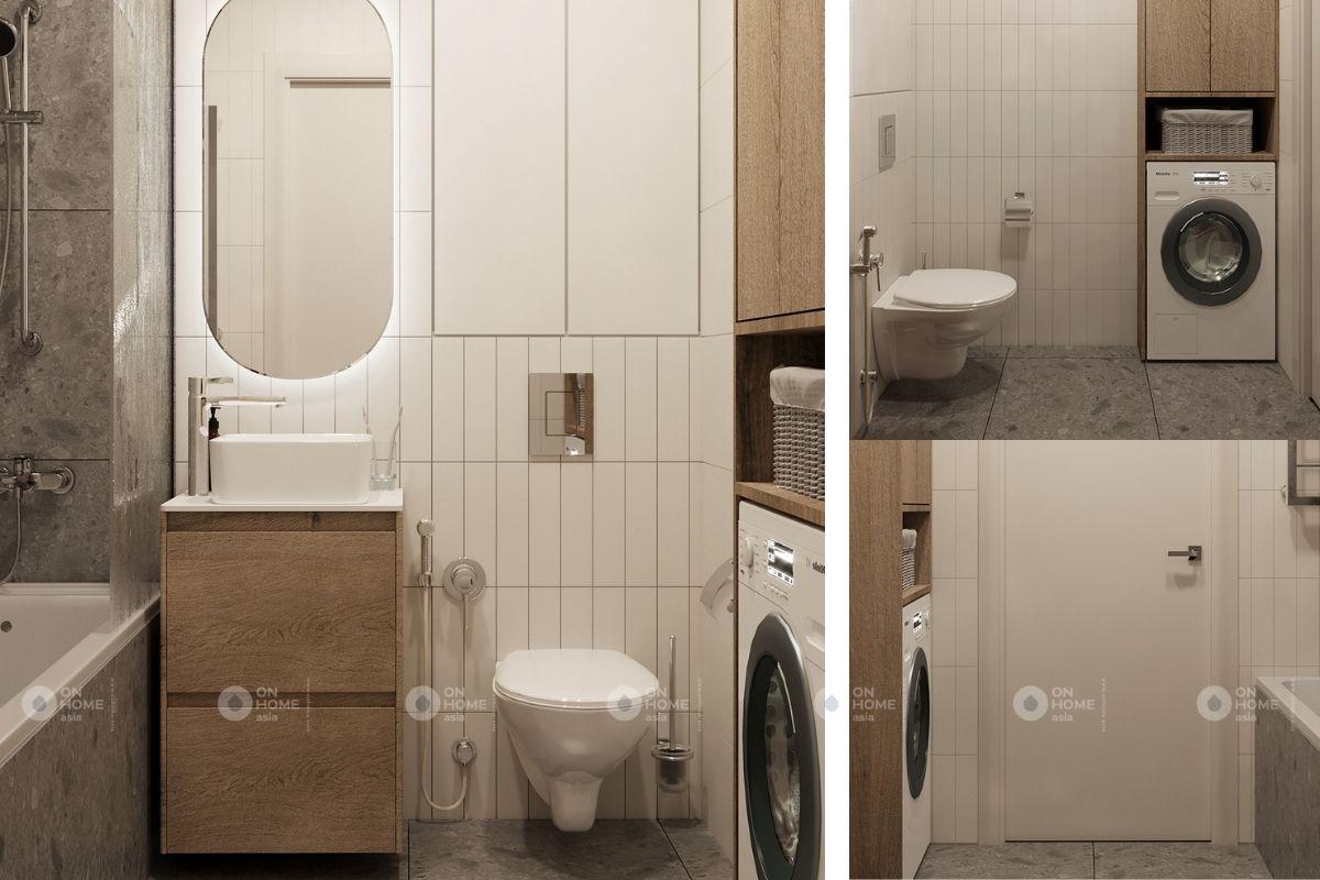 Toilet căn hộ 45m2