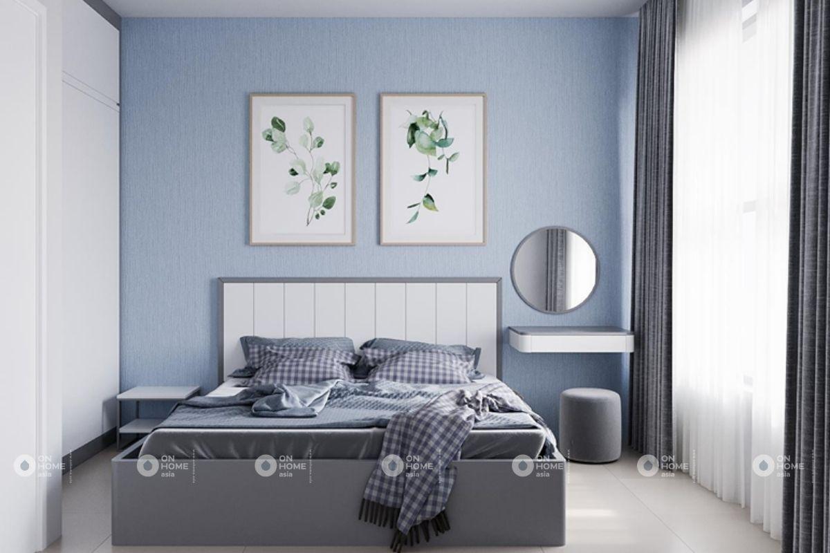 Phòng ngủ căn hộ Compass One