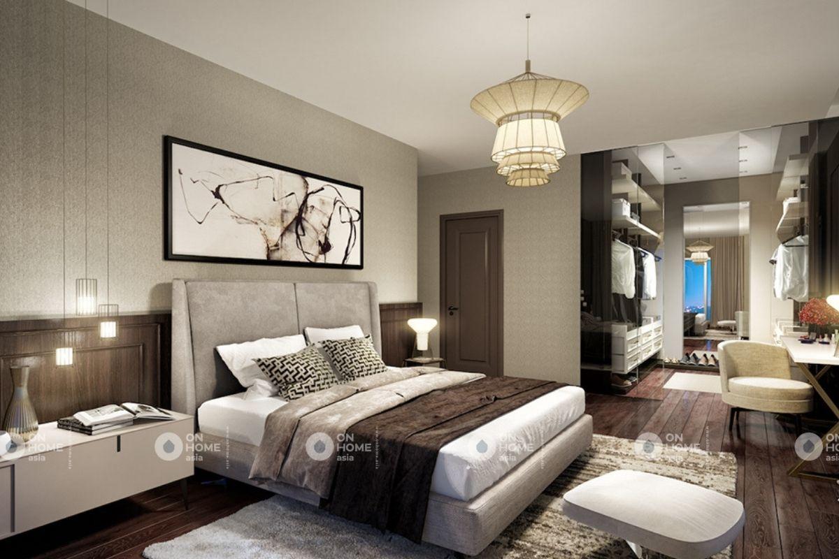 Phòng ngủ phong cách cổ điển sang trọng