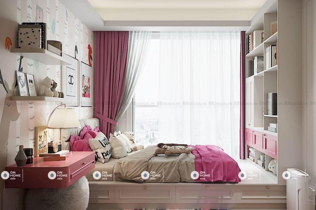 Phòng ngủ tân cổ điển dành cho trẻ