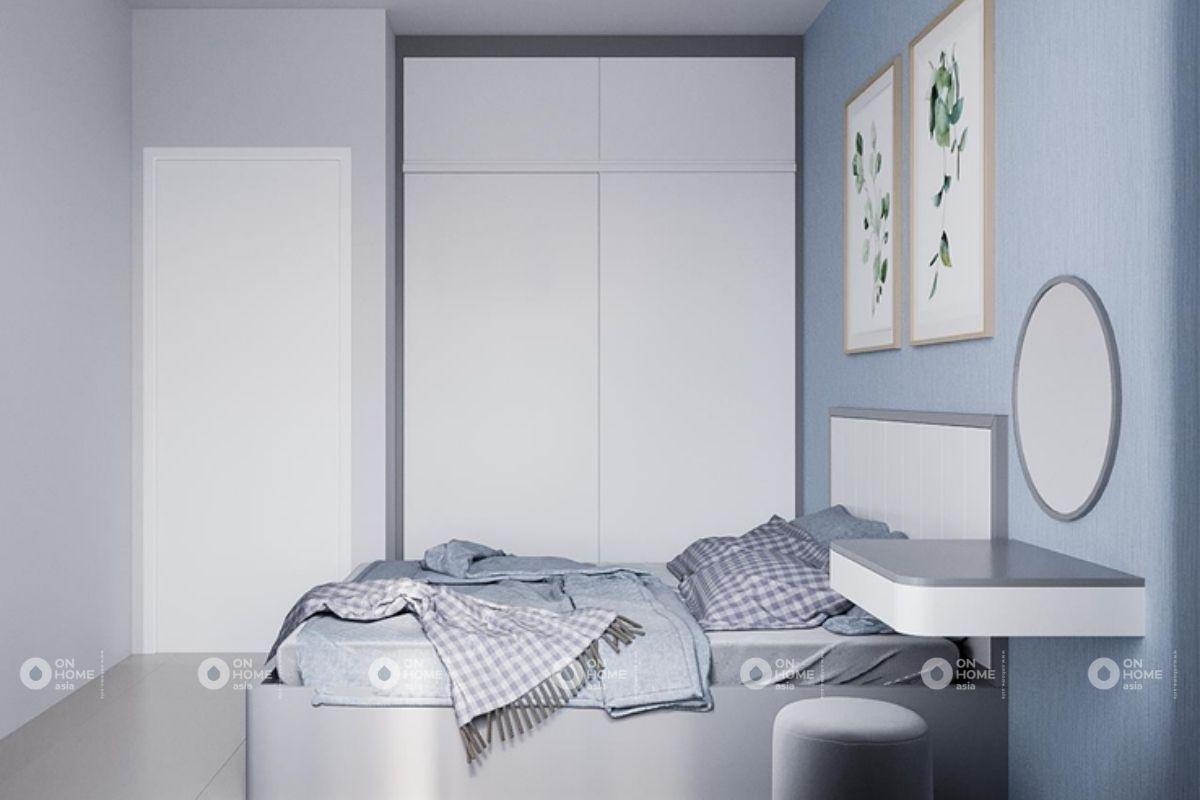Phòng ngủ với màu tươi sáng