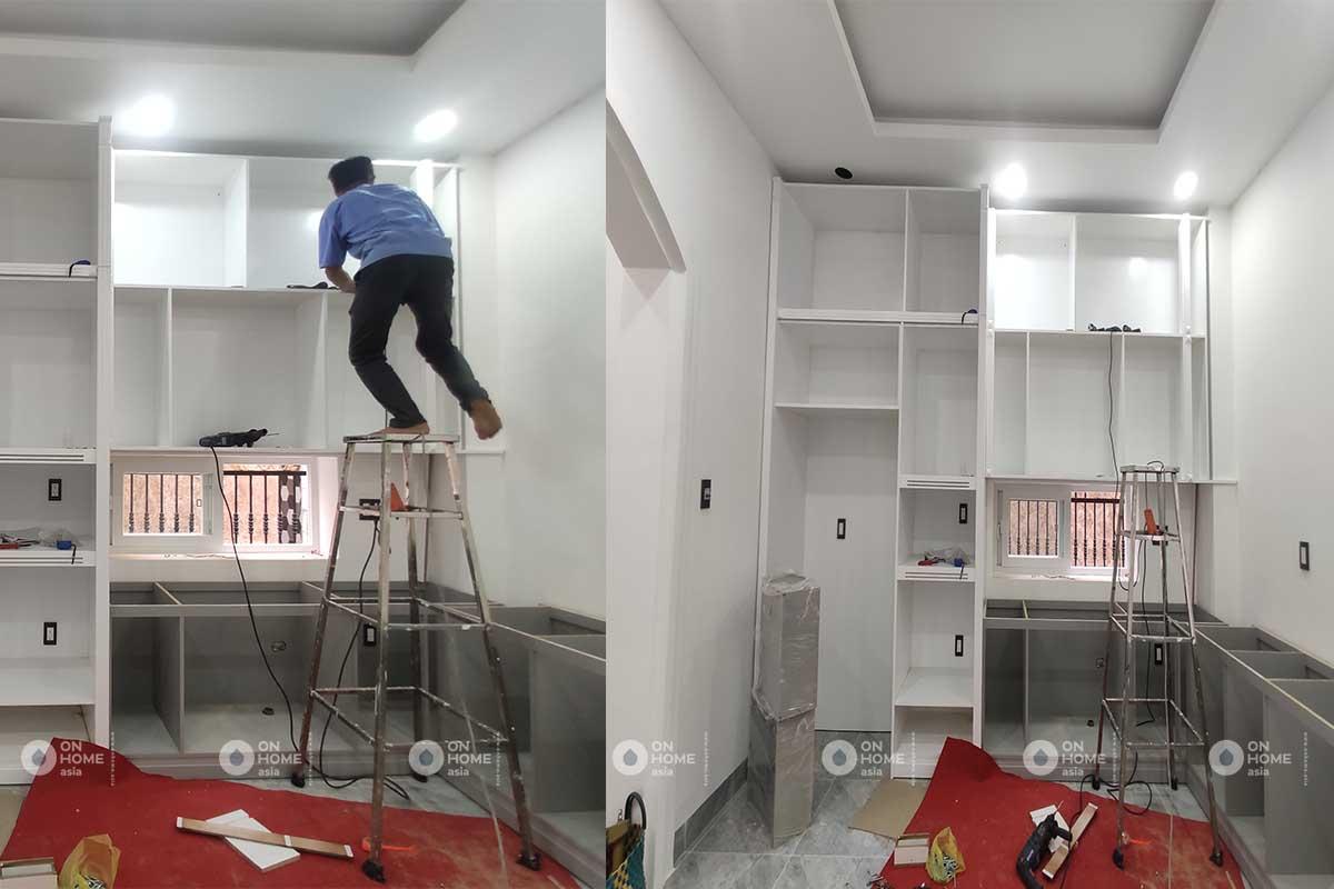 Hình ảnh quá trình thi công nội thất