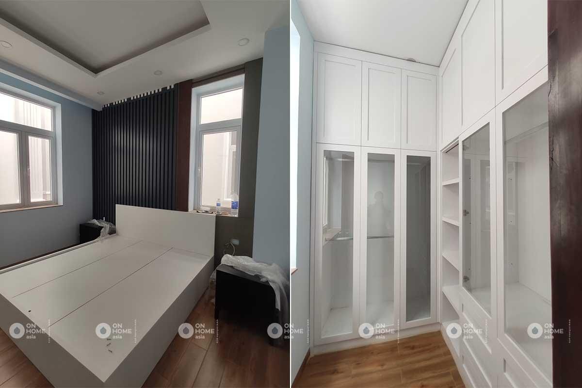 Quá trình hoàn thiện nội thất tại On Home Asia
