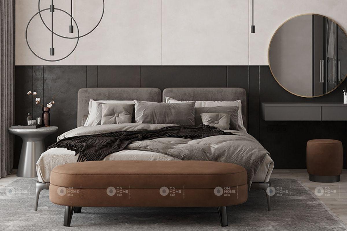 thiết kế nội thất 45m2 phòng ngủ