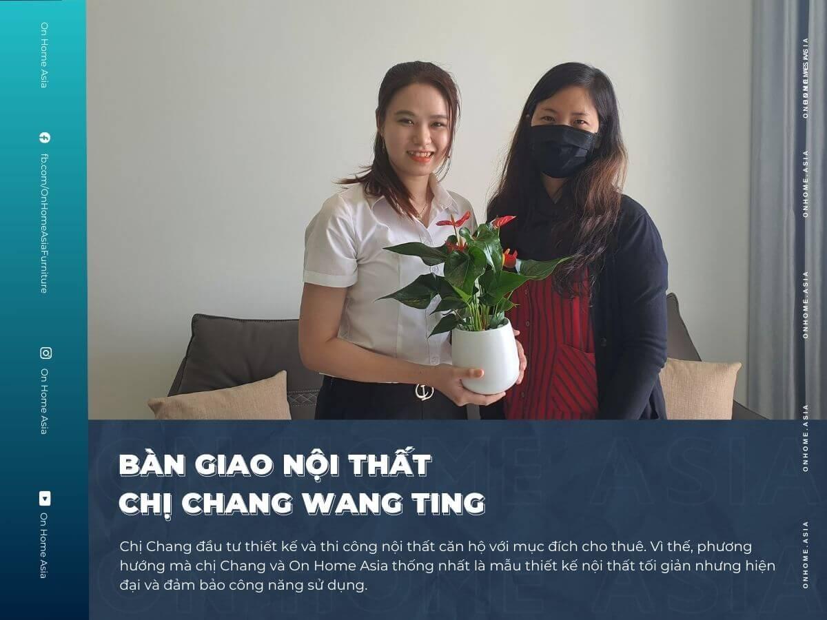 thumbnail bàn giao nội thất cho chị Chang Compass One