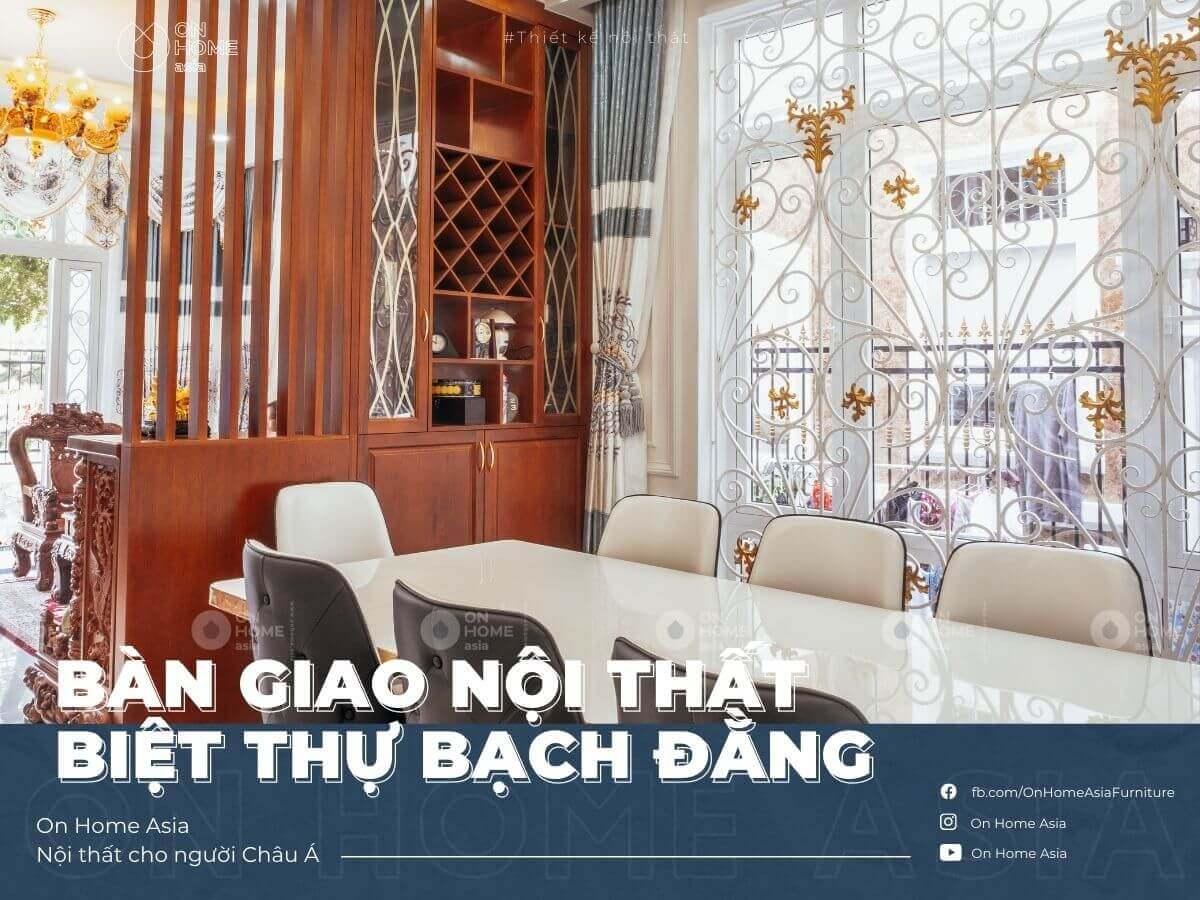 Bach Dang villa interior