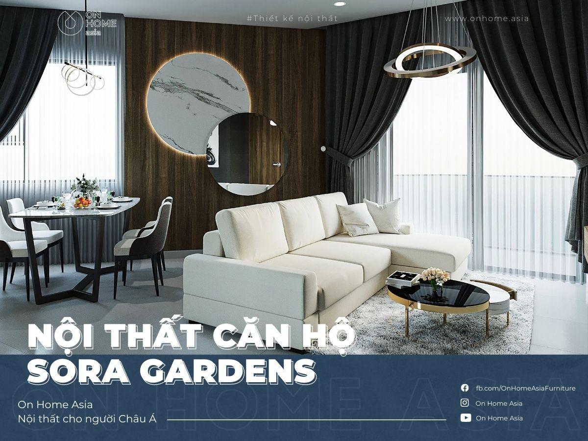 interior of 2 bedroom apartment sora gardens model y12