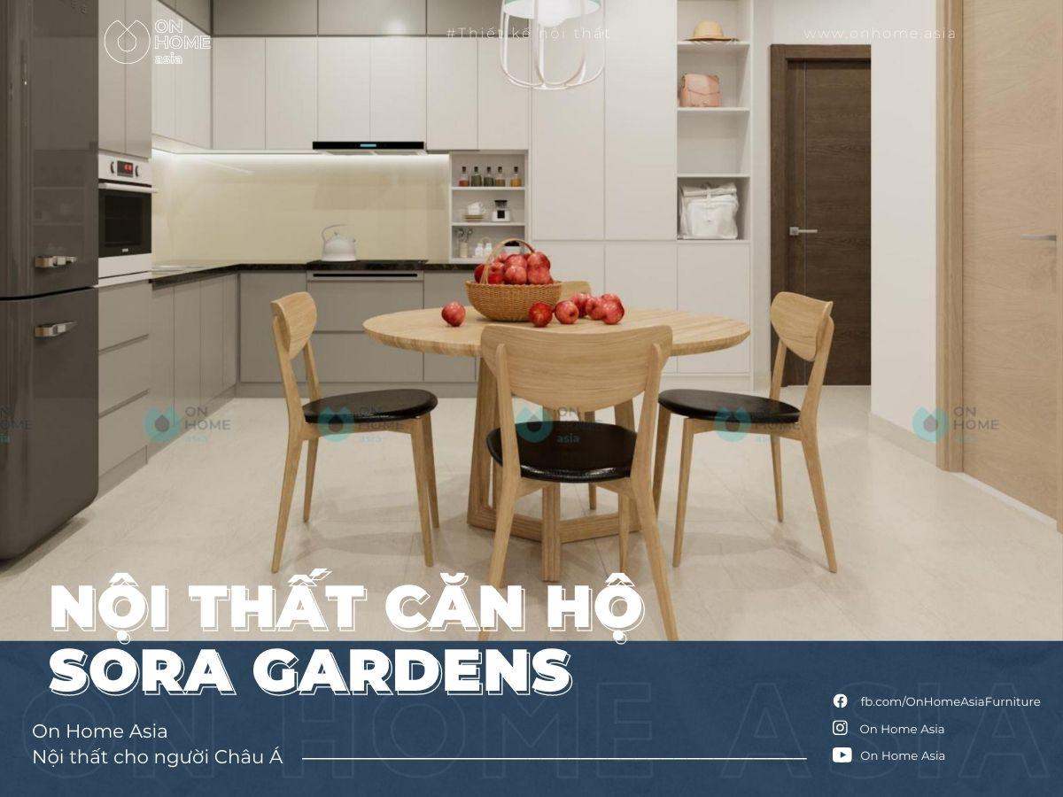 interior of sora gardens 1 bedroom apartment