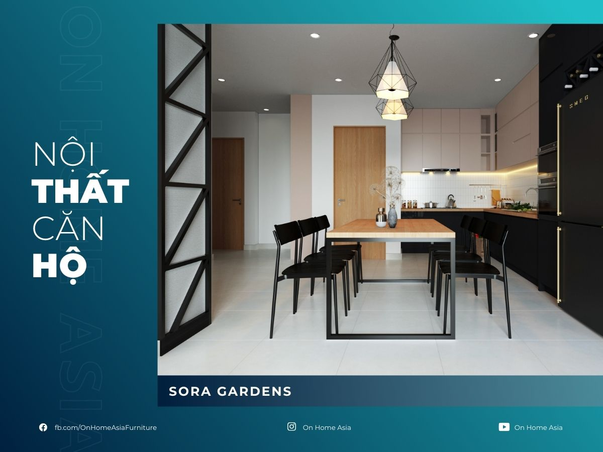 interior of sora gardens 3 bedroom apartment model z9