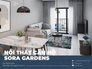 nội thất sora gardens 3 phòng ngủ mẫu z6