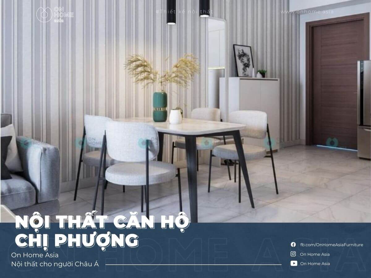 Interior of 2 bedrooms apartment happy one, Binh Duong, Ms. Phuong
