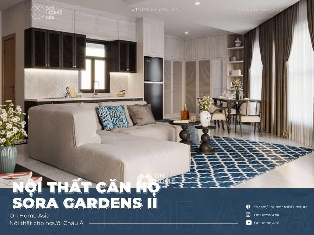 Interior of Sora Gardens II apartment