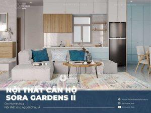 Interior design of Sora Gardens II apartment