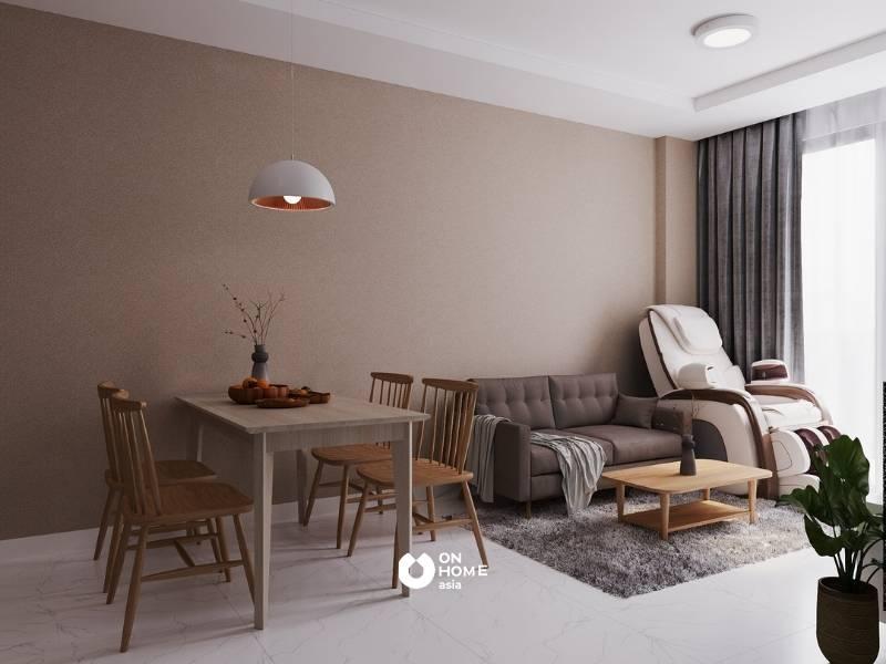 Nội thất căn hộ 2 phòng ngủ - Cô Ngọc